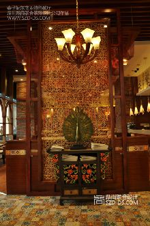 深圳泰子妃泰式东南亚特色餐厅设计实景照片